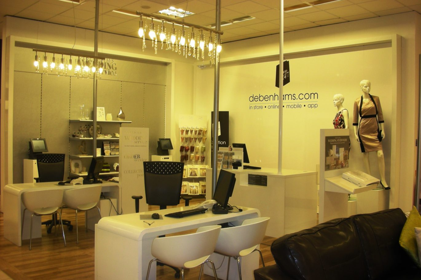 Debenhams - Fit Outs and Refurbishments Within Trading Department Stores