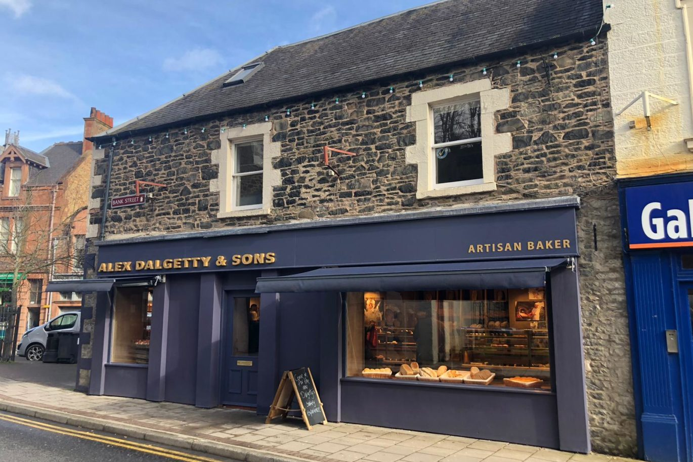 Alex Dalgetty & Sons - Galashields - Bakery fit out
