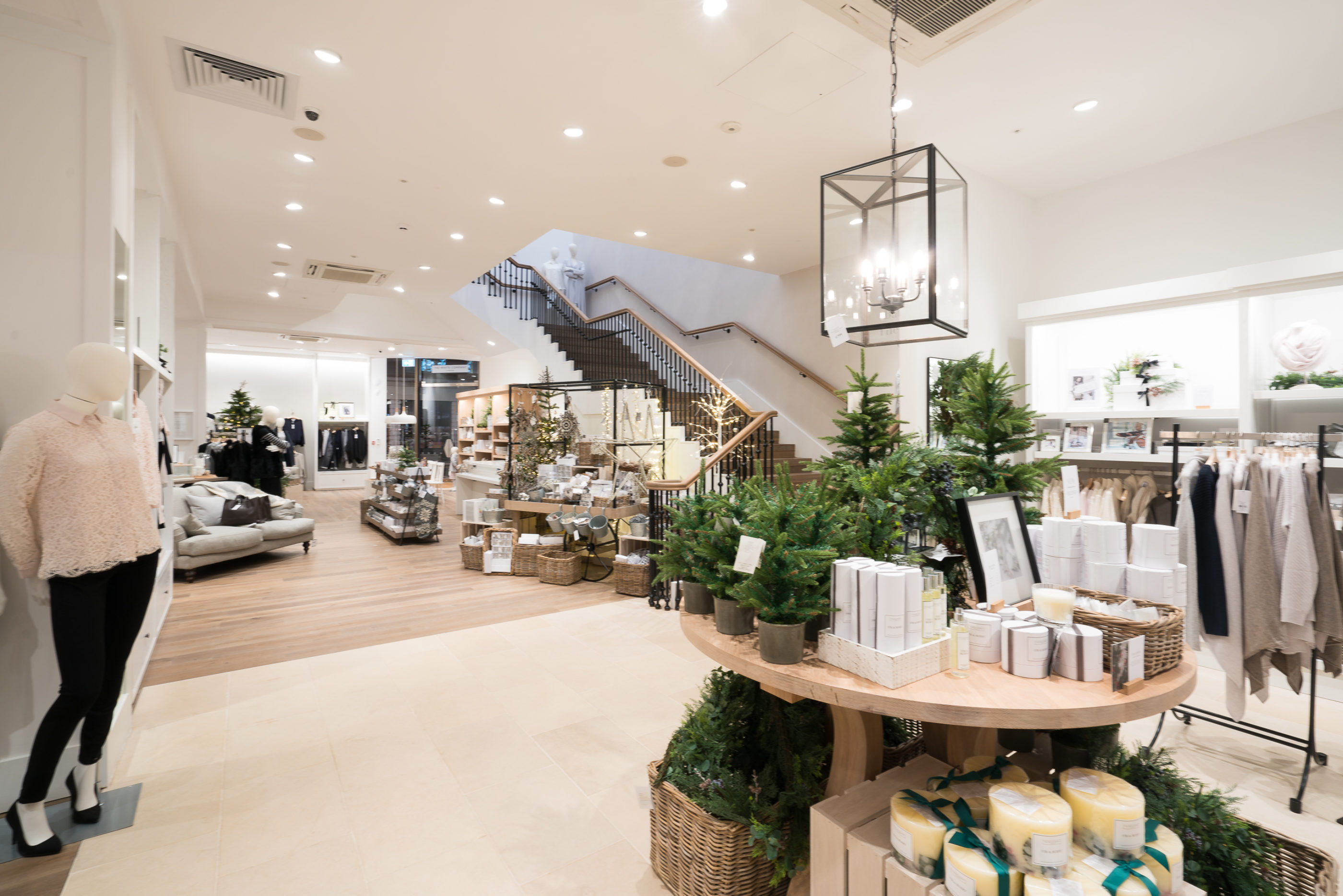The White Company Fit Out Contractor Shopfitter